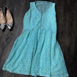 GUESS - eyelet dress